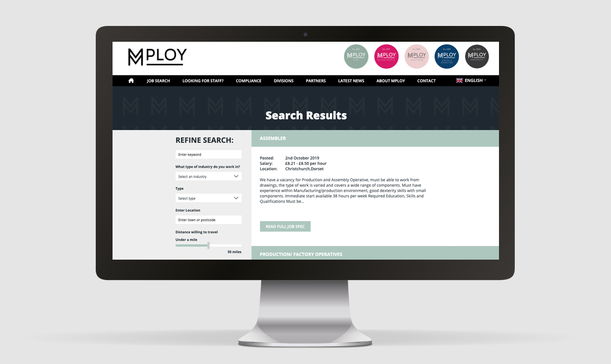 MPLOY Job Board and Search