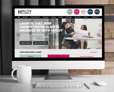 MPLOY website home page
