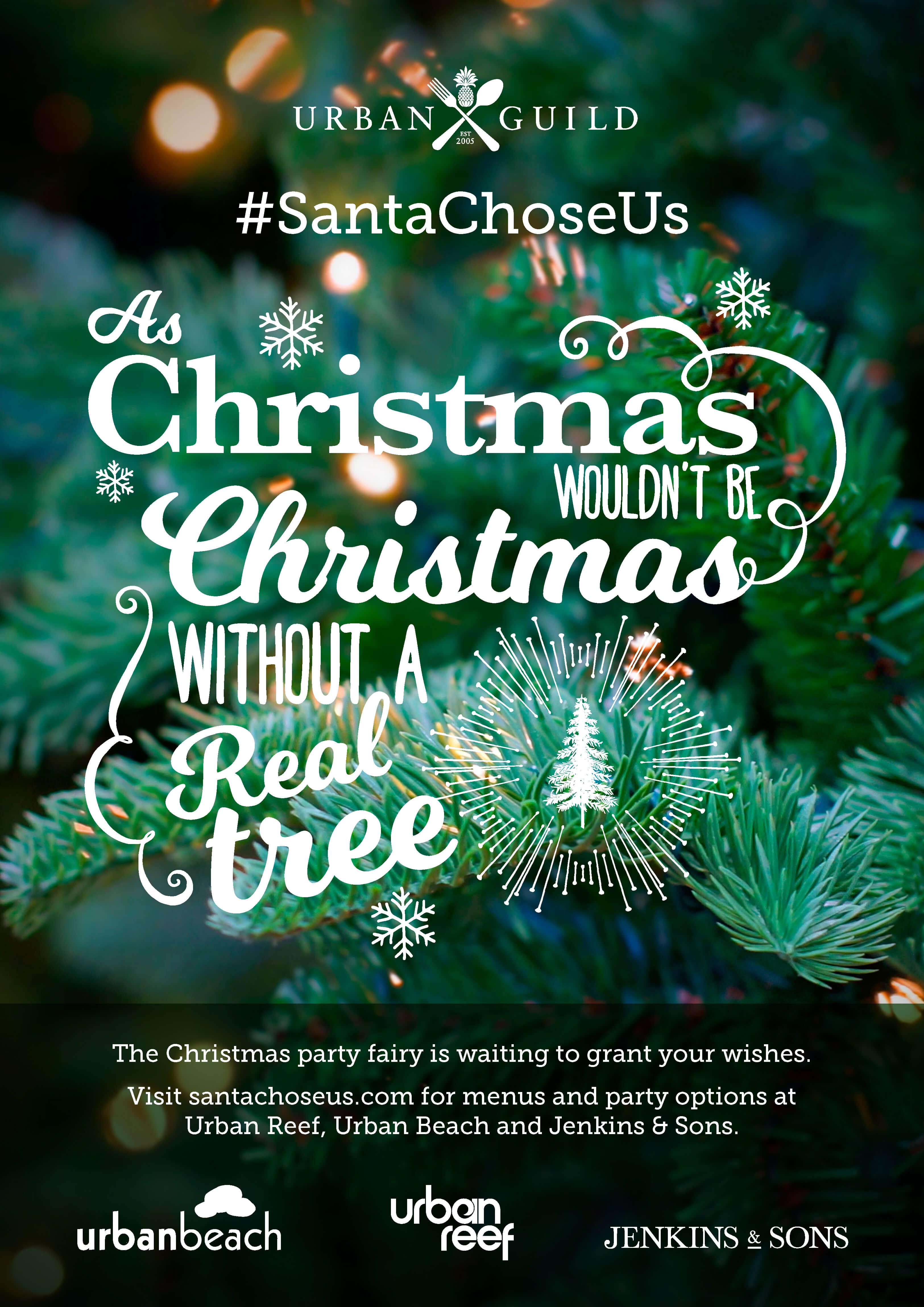 Santa Chose Us Campaign
