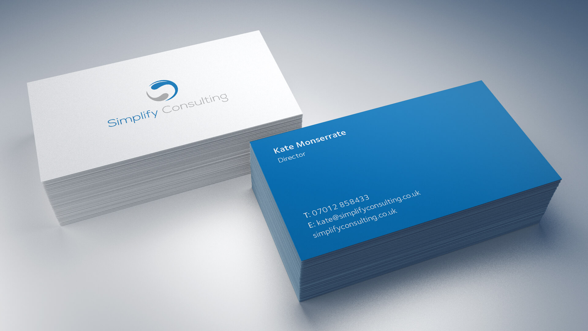 Simplify Consulting Business Cards