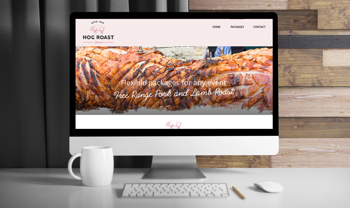 Dorset Hog Roast Website Home Page