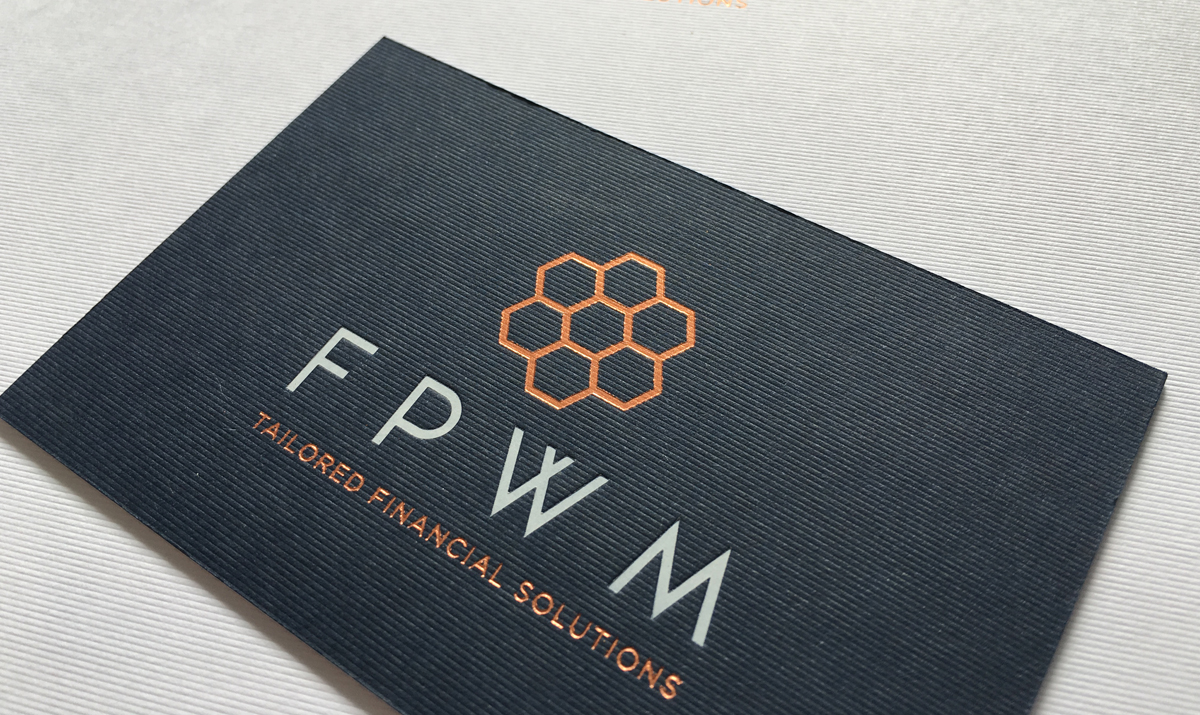FPWM Foil Block Stationery