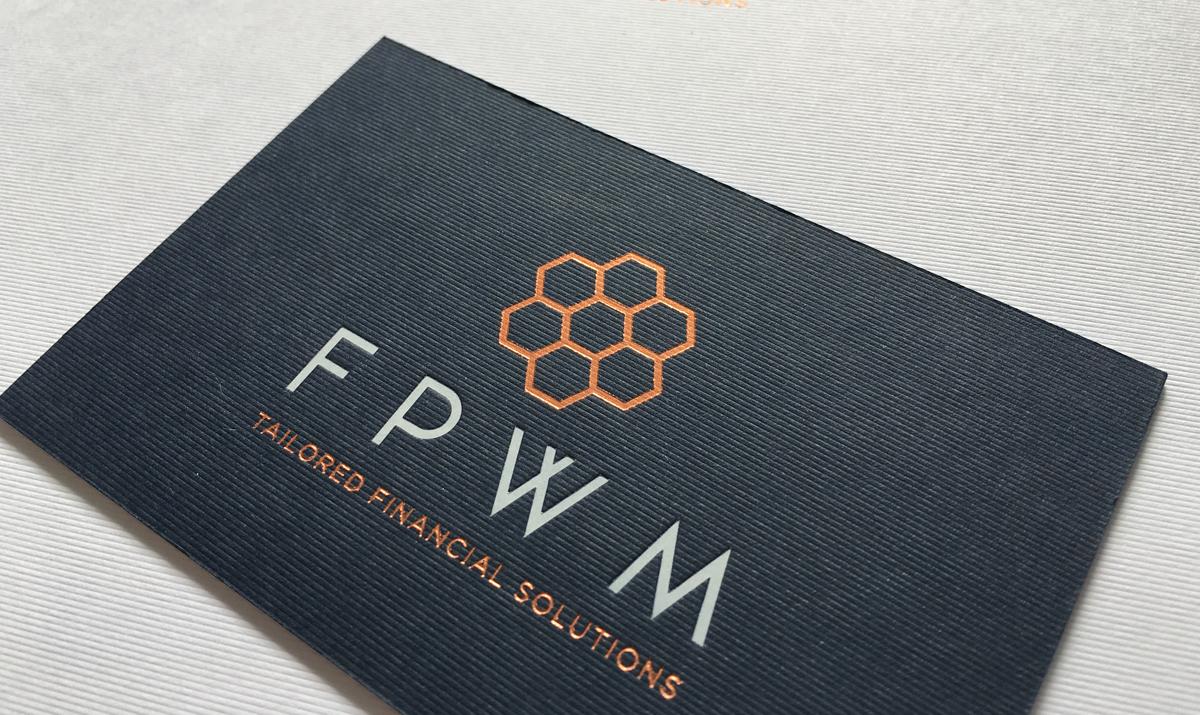 FPWM Foil Block Stationery