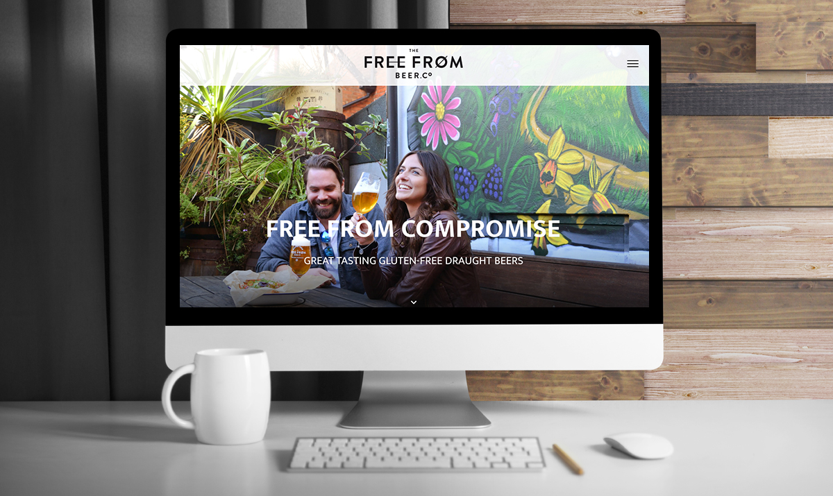 Free From beer Company Website