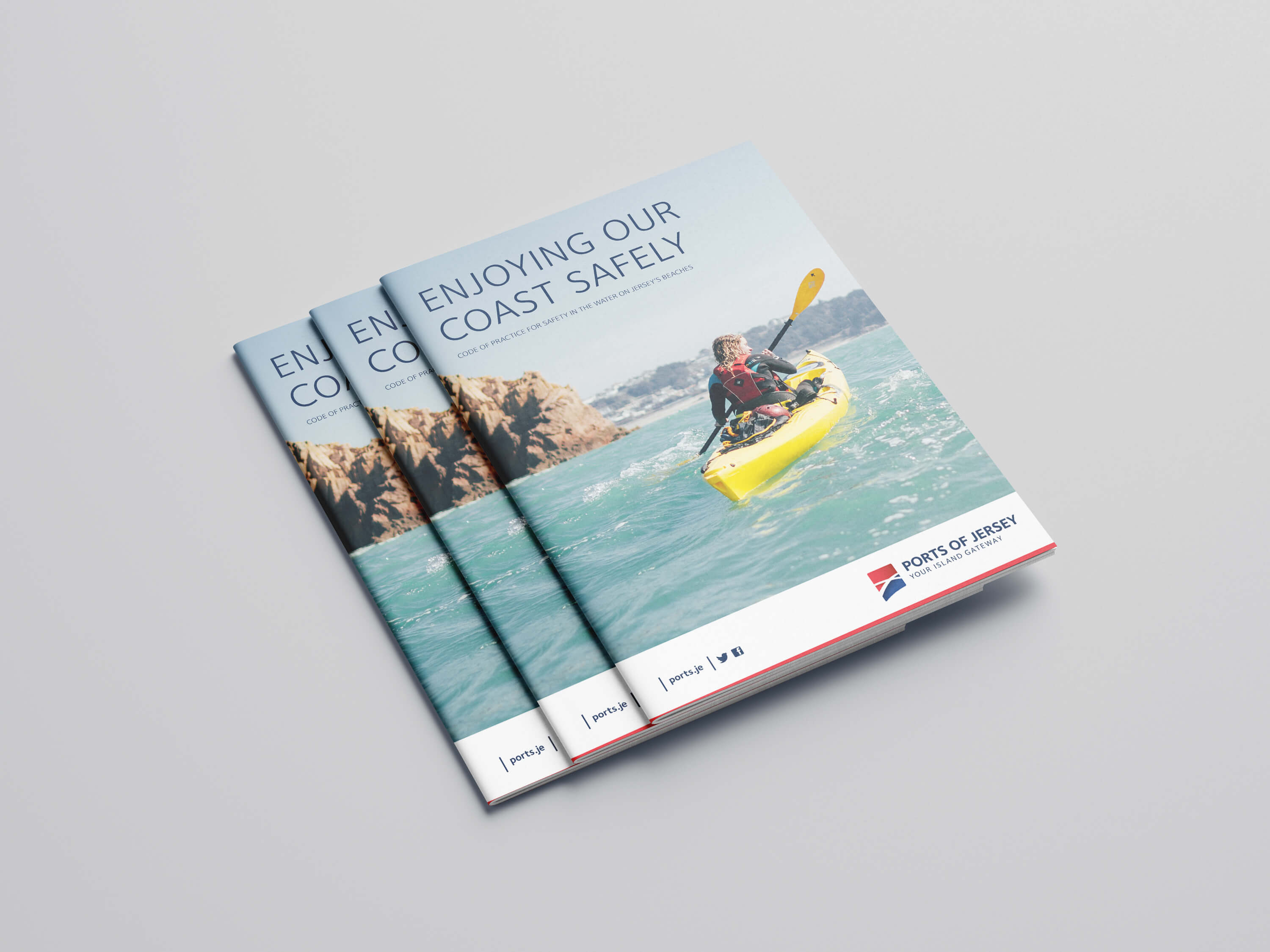 Port of Jersey Guide Cover
