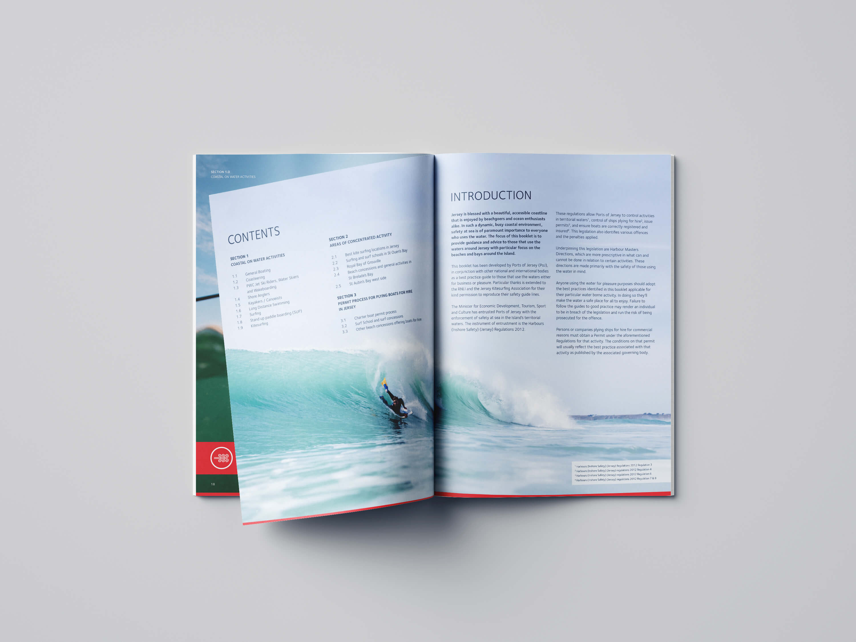 Port of Jersey Guide inner pages
