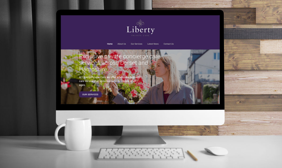 Liberty Private Care Website