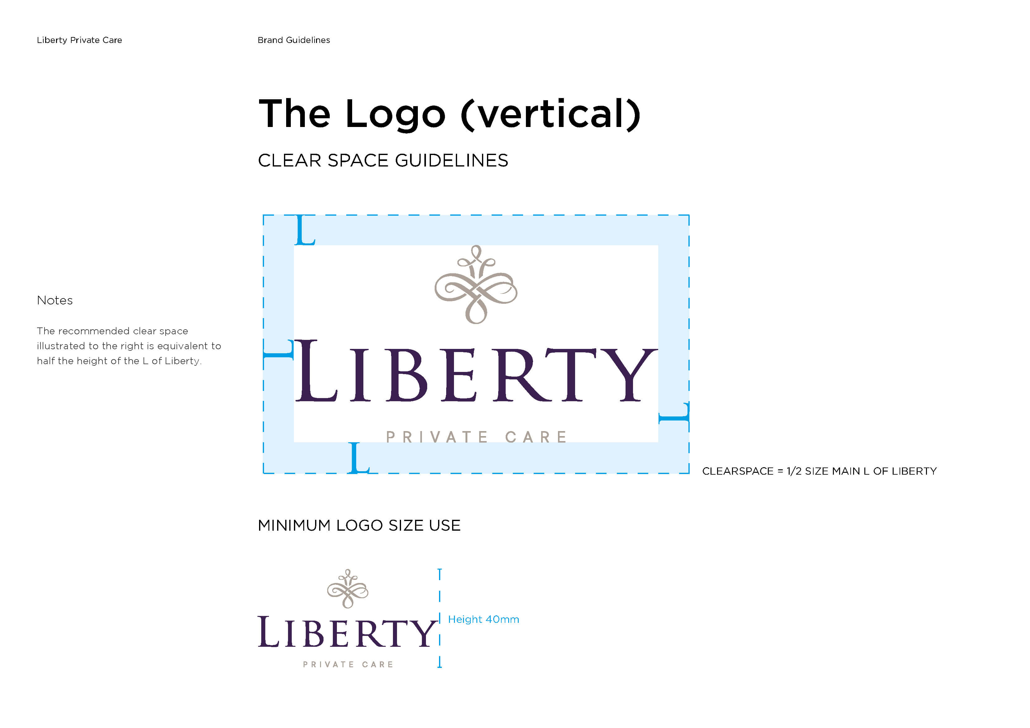 Liberty Private Care Brand Guidelines