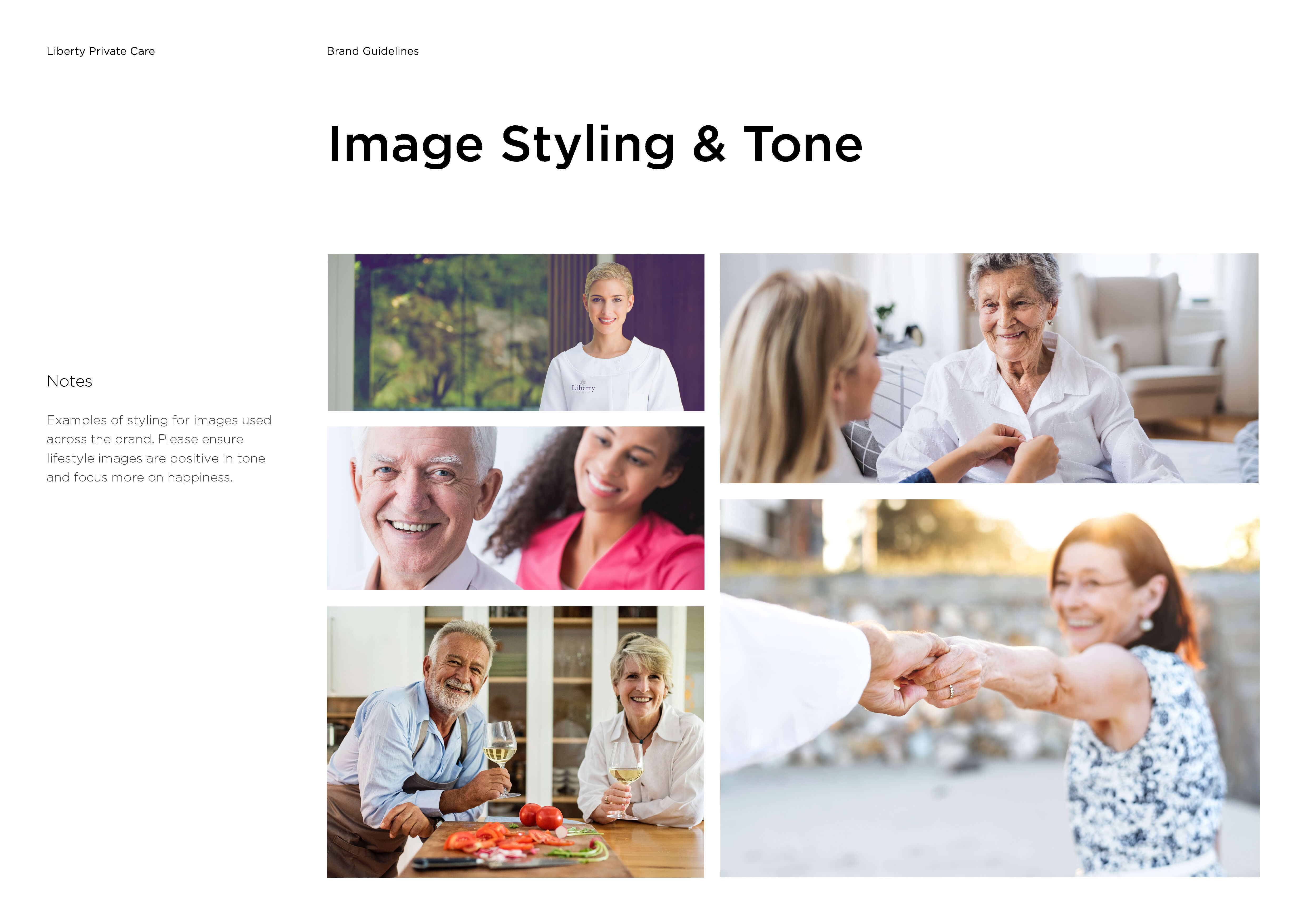 LPC brand guidelines tone of image