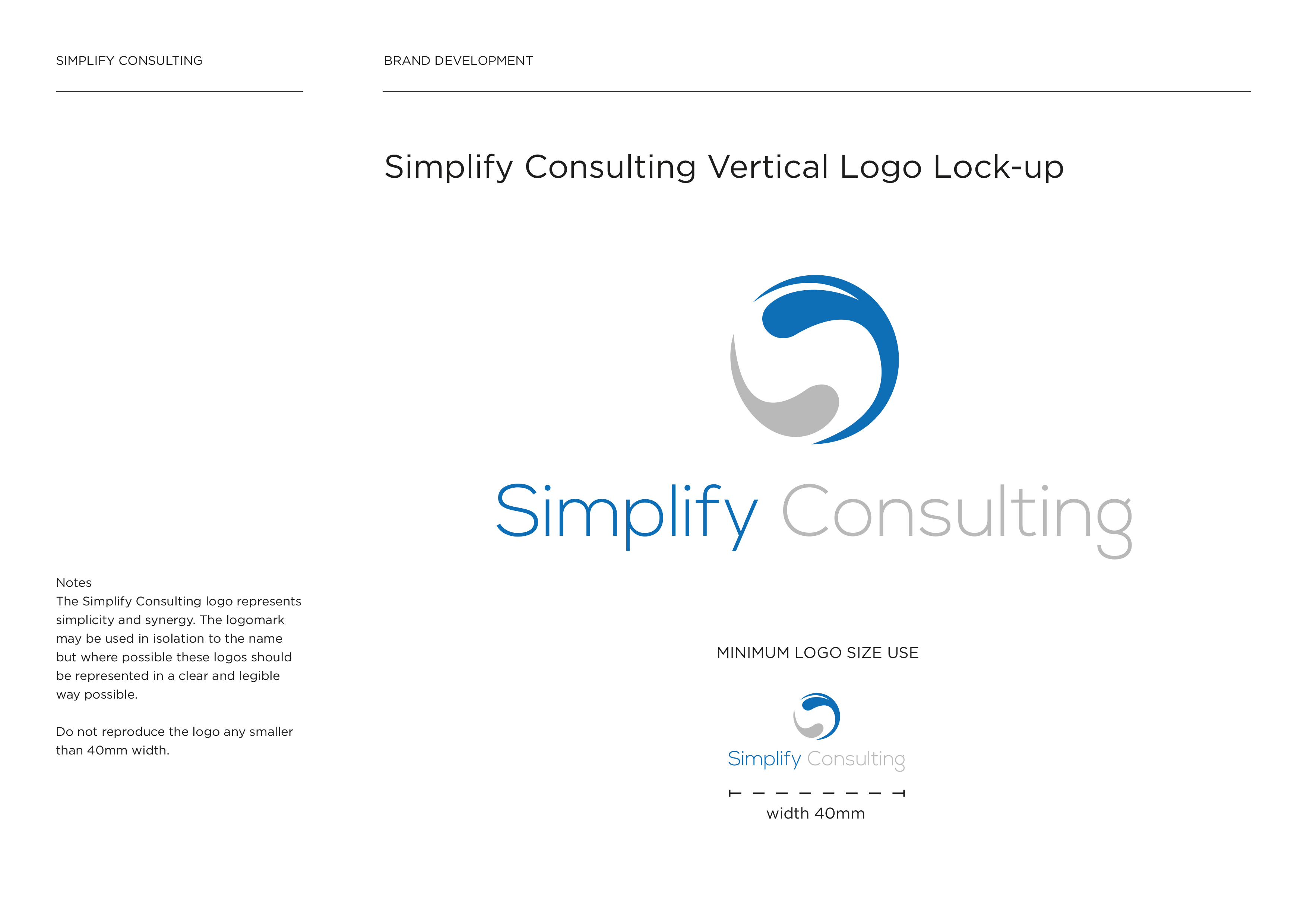 Simplify Consulting Guidelines